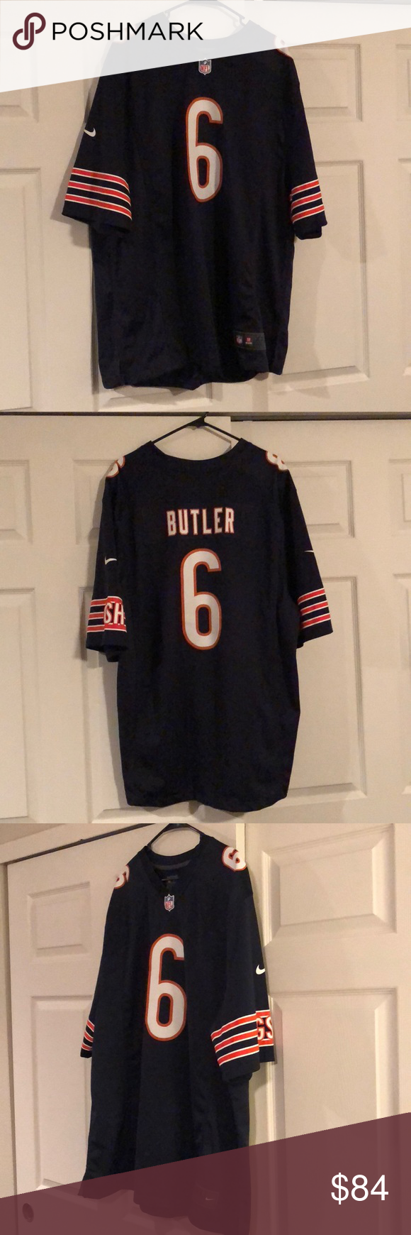 Kevin Butler 6 Chicago Bears Jersey Chicago Bears Jersey Nike Shirts Clothes Design