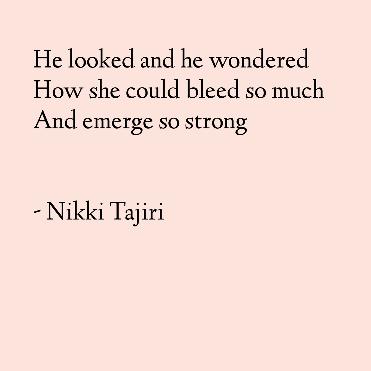 She Dreams When She Bleeds Poems About Periods By Nikki Tajiri She Quotes Instagram Words Simple Words