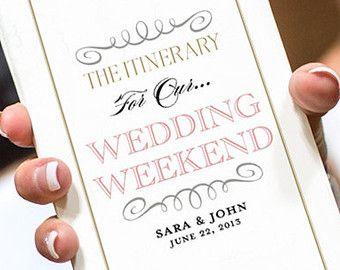 Wedding Itinerary   Google Search. Wedding Itinerary TemplateWedding Weekend  ...