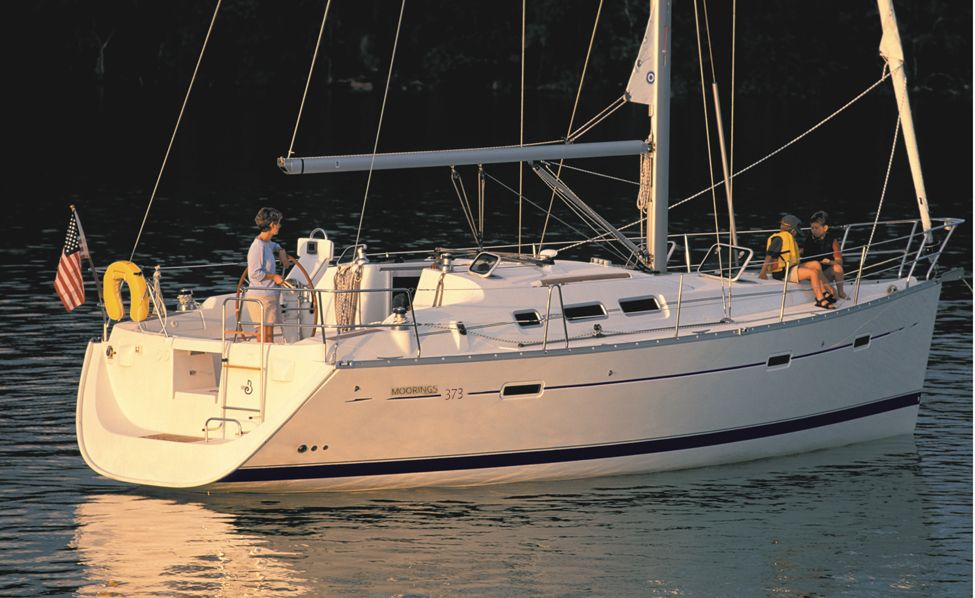 Moorings 373 Beneteau Places I Want To See Bareboat Charter