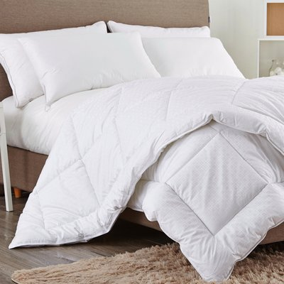 Eider Ivory Medium Weight All Season Down Alternative Comforter
