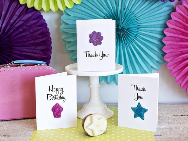 How to Use a Potato to Make Greeting Cards – Birthday Cards You Can Print out