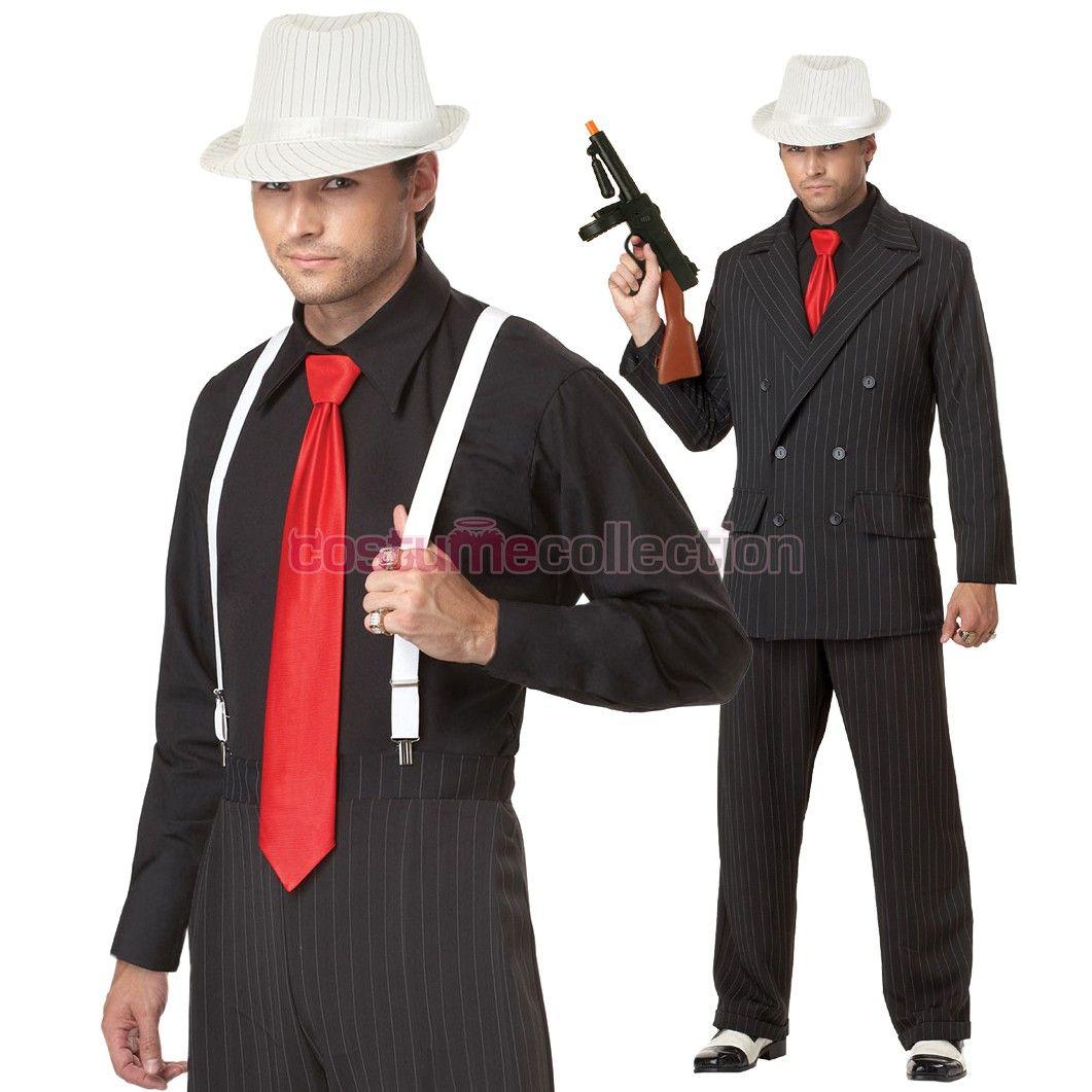 Mens+Mob+Boss+1920s+Gangster+Costume | Halloween | Pinterest