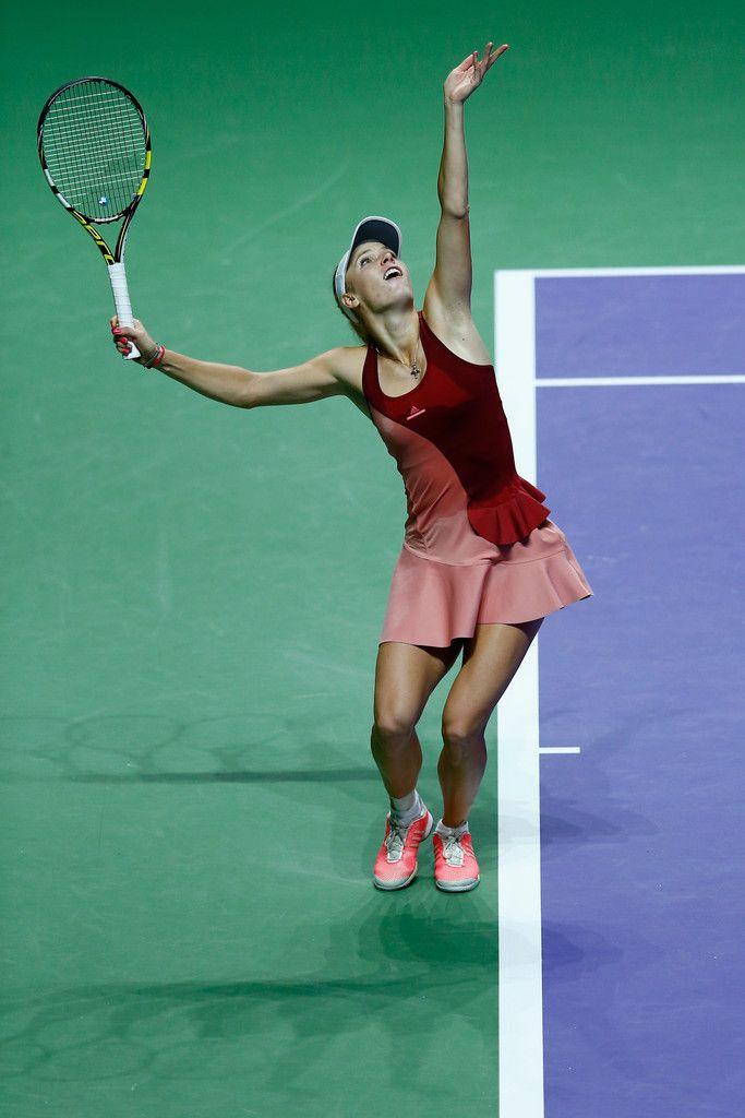 Caroline Wozniacki Photos Photos Bnp Paribas Wta Finals Singapore 2014 Day Six Caroline Wozniacki Tennis Players Tennis