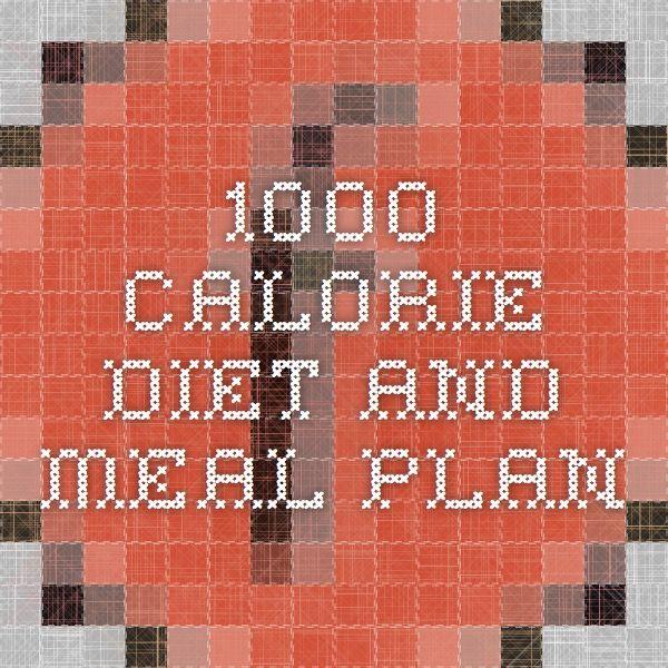 The 25+ best 1000 calorie meal plan ideas on Pinterest ...