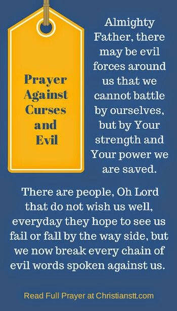 Powerful Prayer for Breaking Curses and Against Evil | A