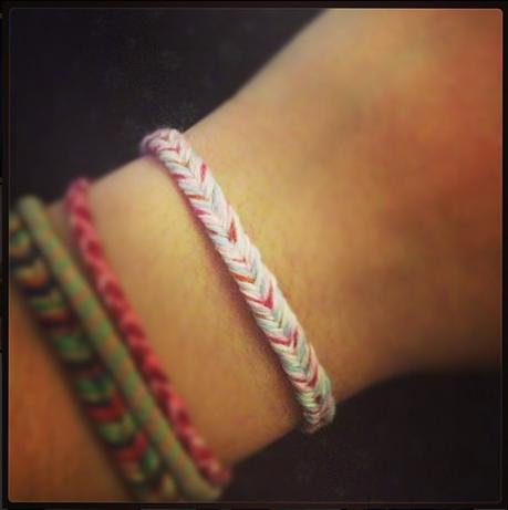 #Handmade bracelet by #CamK @CamK_