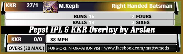 Pepsi Ipl 6 Kkr Overlay For Ea Cricket 07 By Arslan Mattw Ea Cricket 2007 Patches Overlays Mods Tools Overlays Ipl Asia Cup