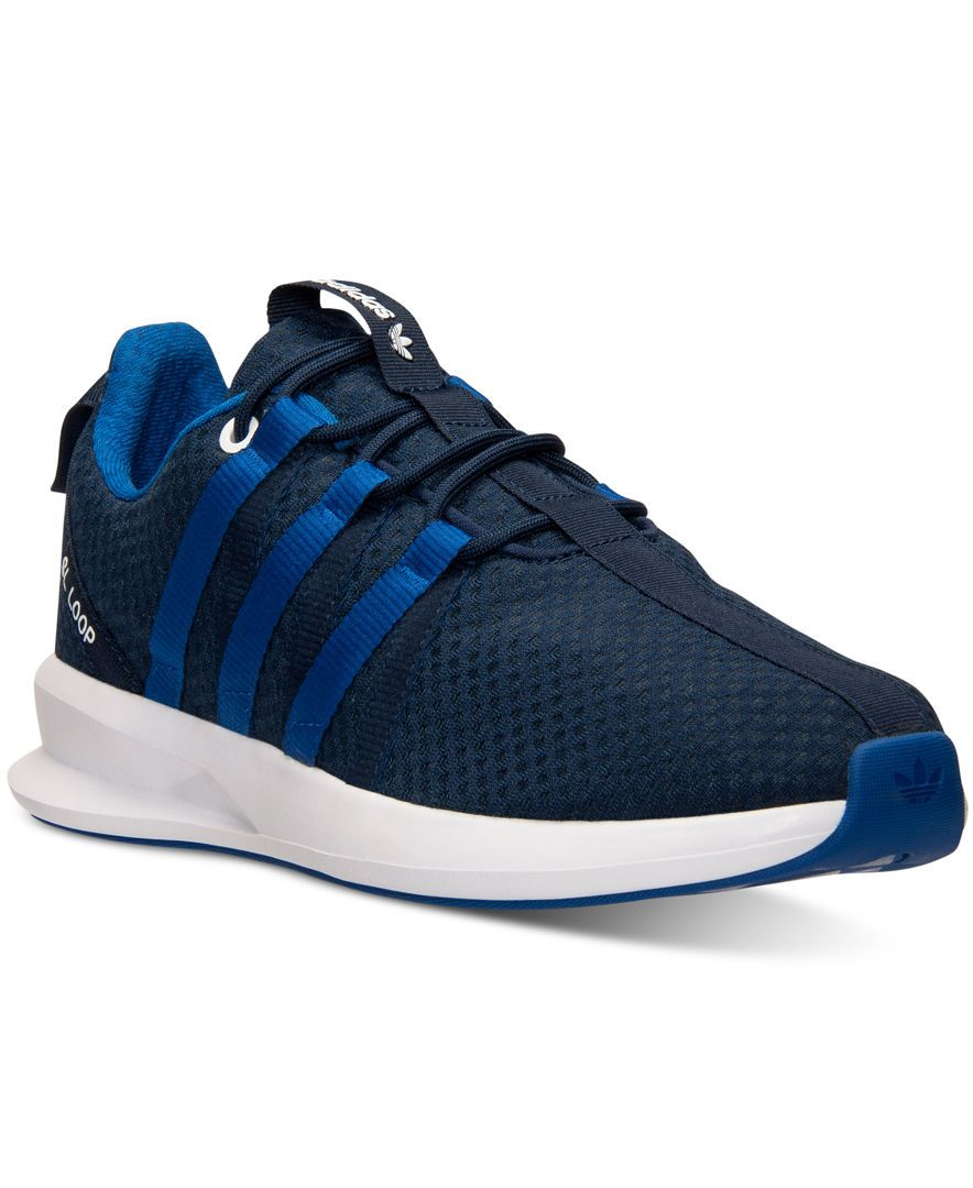 adidas Men's Originals SL Loop Racer Split Casual Sneakers from Finish Line  - Finish Line Athletic Shoes - Men - Macy's