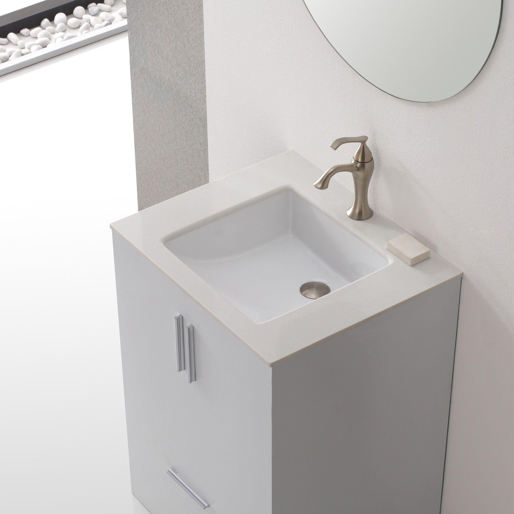 Quadratische Unterbau Waschbecken Waschbecken Unterbau