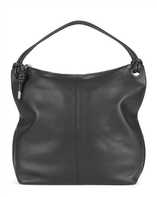 Jaeger ¦ Leather knot hobo