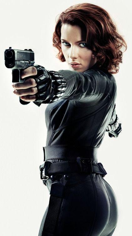 Scarlett Johansson-Black Widow Photo by Marco Grob | Femme Fatale ...