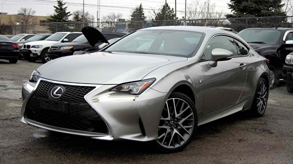 2015 LEXUS RC 350 F SPORT PACKAGE AWD NAVIGATION RED SEATS