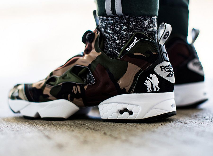 697feafa3b57 AAPE by A Bathing Ape x Reebok Insta Pump Fury - Release Date -  SneakerNews.com