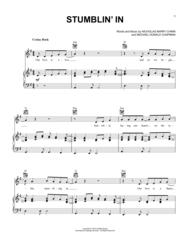 Stumblin In Sheetmusic Sheet Music Sheet Music Book Christmas Sheet Music