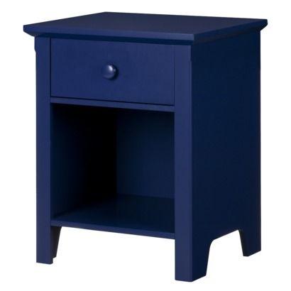 Best A Children S Nightstand But I Love That Dark Blue 640 x 480