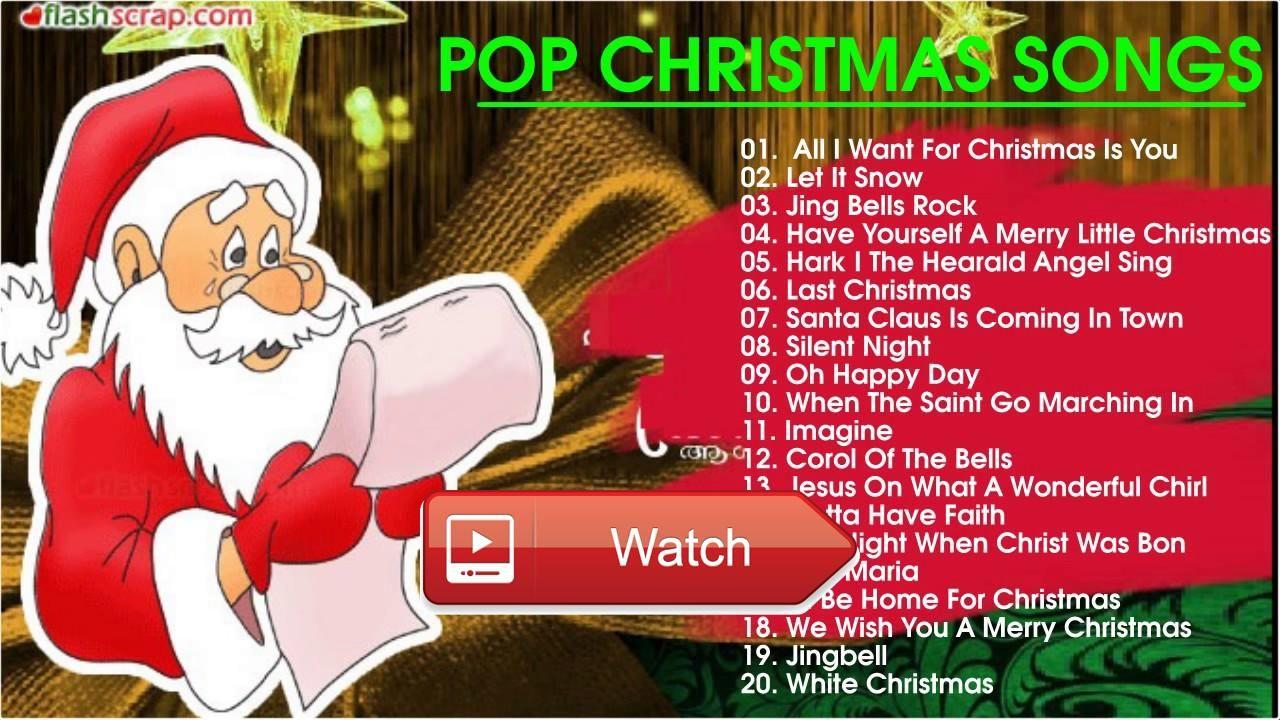 Best Pop Christmas Songs Ever 17 1 Christmas Music Playlist Best ...