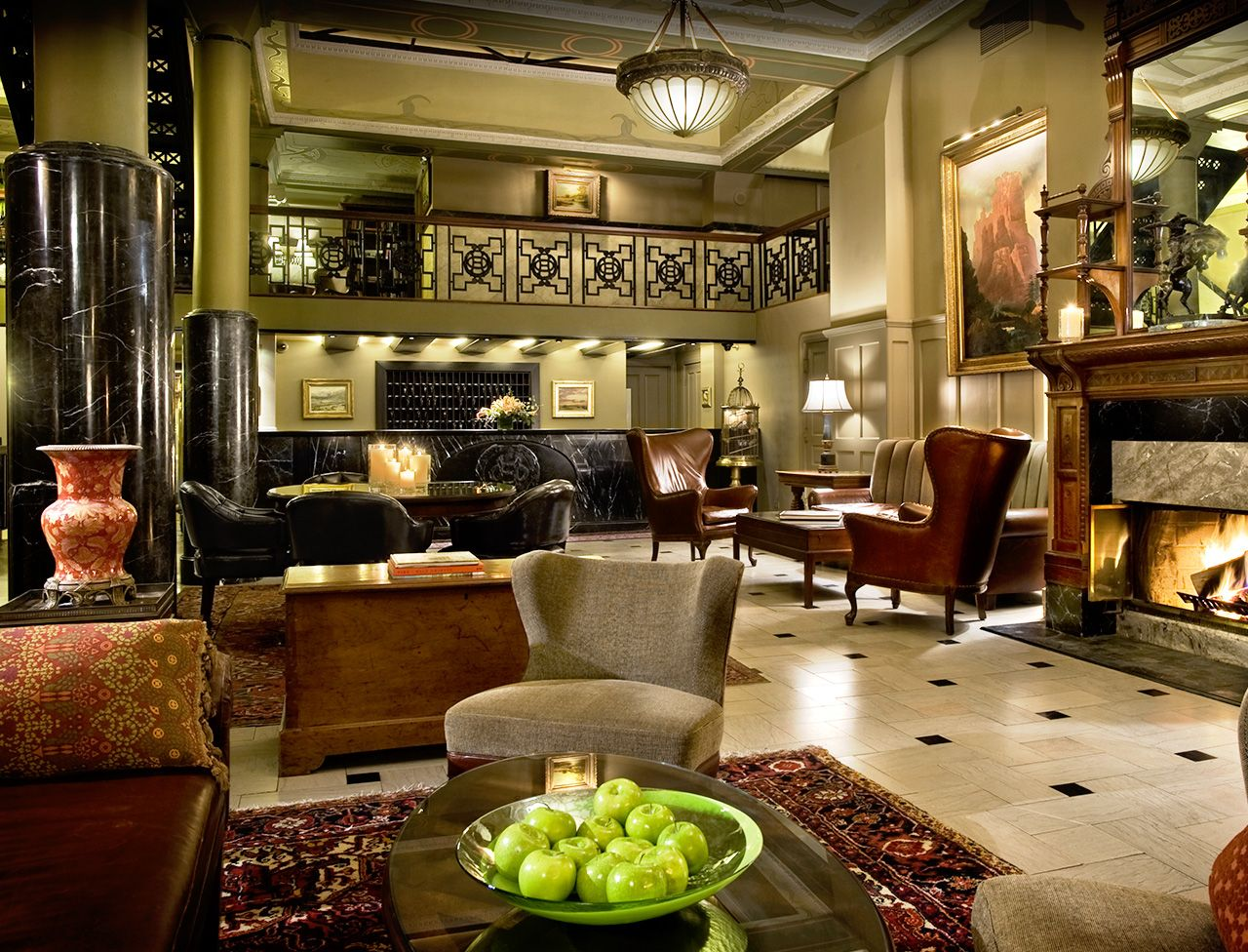The Oxford Hotel In Downtown Denver 16th Street Mall Hotels