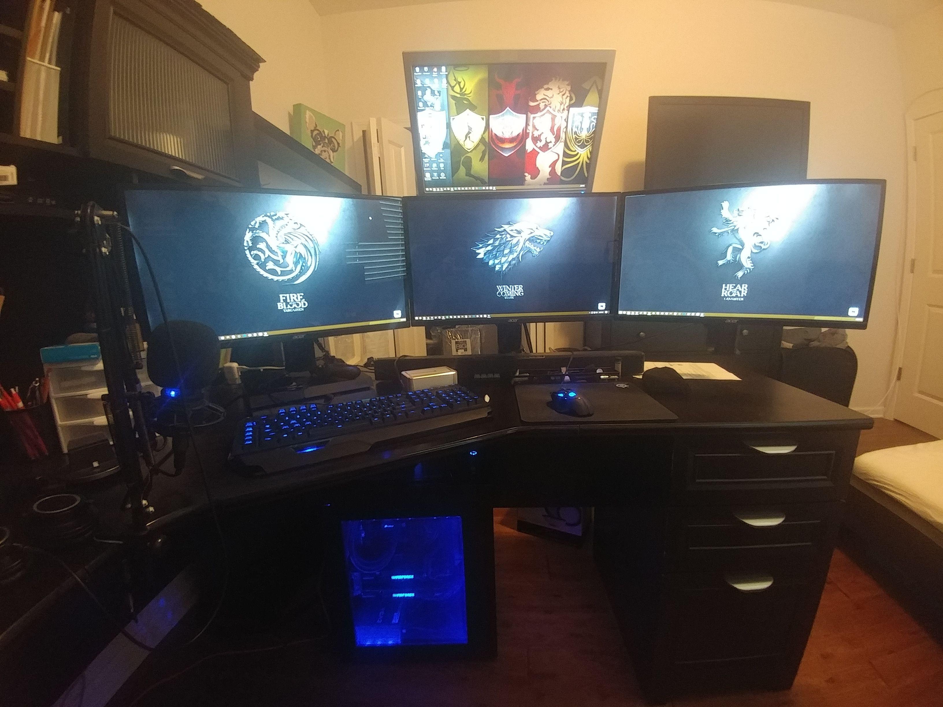 My Setup Deadchop's Tech Shop Computer setup, Setup