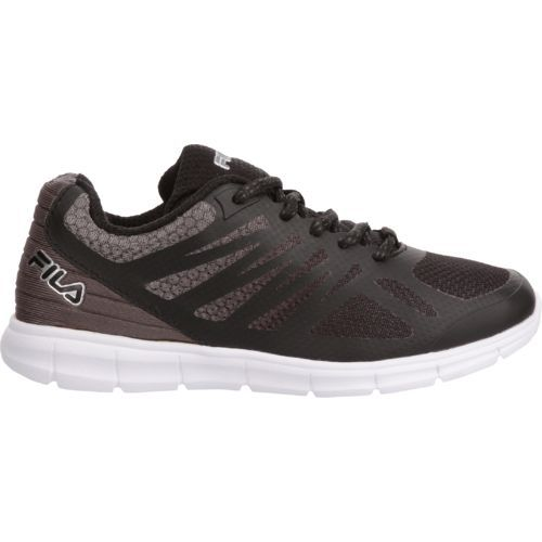 Fila Boys' Speedstride Training Shoes (Black/Dark Grey, Size 2.5) - Youth Running Shoes at Academy Sports