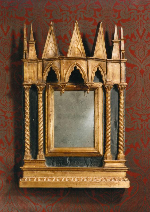 Espejo medieval tabernáculo- extraordinaria pieza arquitectónica de ...