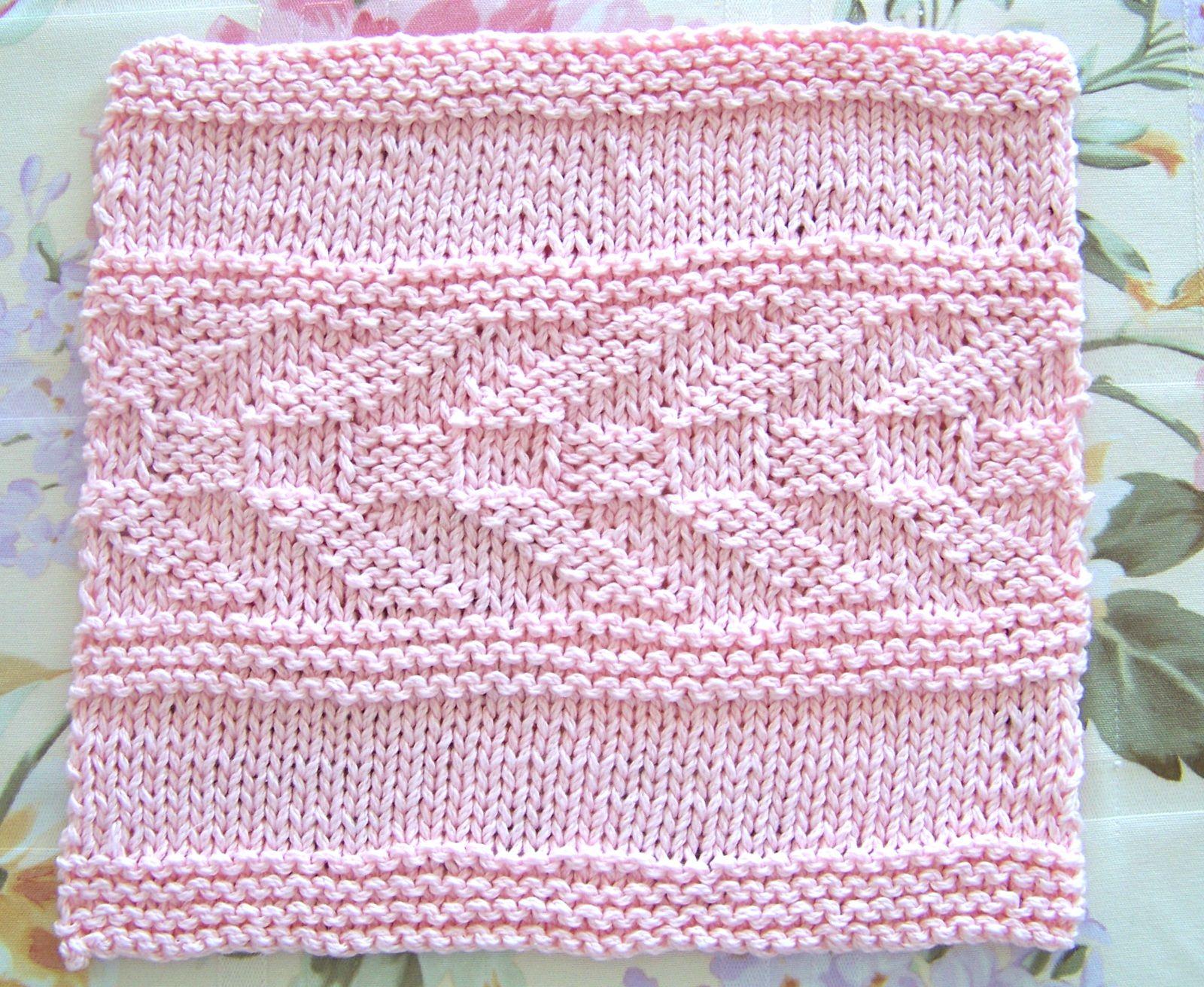 Kitchen Dishcloth ~ Arrow Stripe Pattern   Yarn work   Pinterest ...