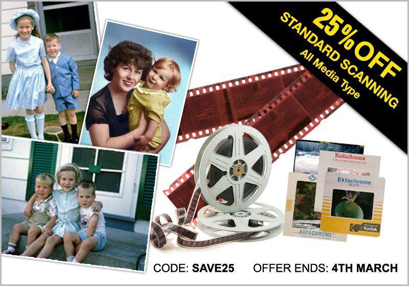 ScanCafe Photo Scanning Services, Negative & Slide