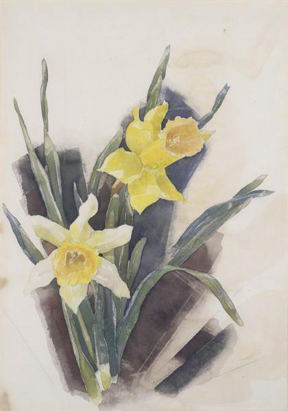 Charles Demuth Jonquilles Charles Demuth Still Life Flowers