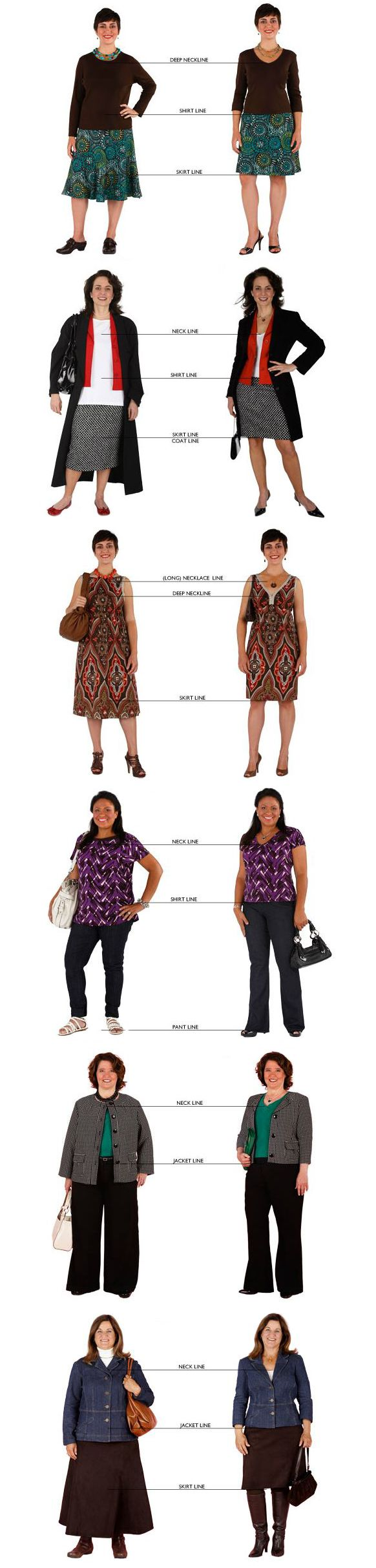 Dress to flatter your shape using ideal fit and proportions bodies floridaeventfo Image collections