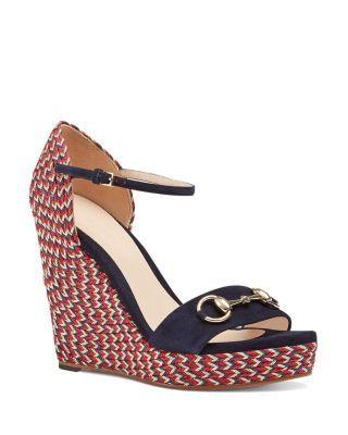 3e8d7b8f0 Gucci Carolina Platform Corded Wedge Sandals | Bloomingdale's ...