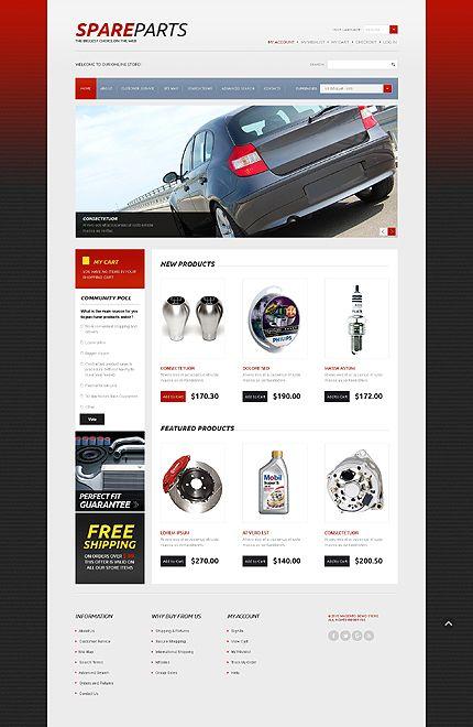 Làm Web bán đồ ô tô, phụ tùng ô tô 891 - http://lam-web.com/sp/lam-web-ban-o-phu-tung-o-891 - http://lam-web.com