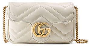 be46dc3fa601 Shop for GG Marmont Matelassé Leather Super Mini Bag by Gucci at ShopStyle .com