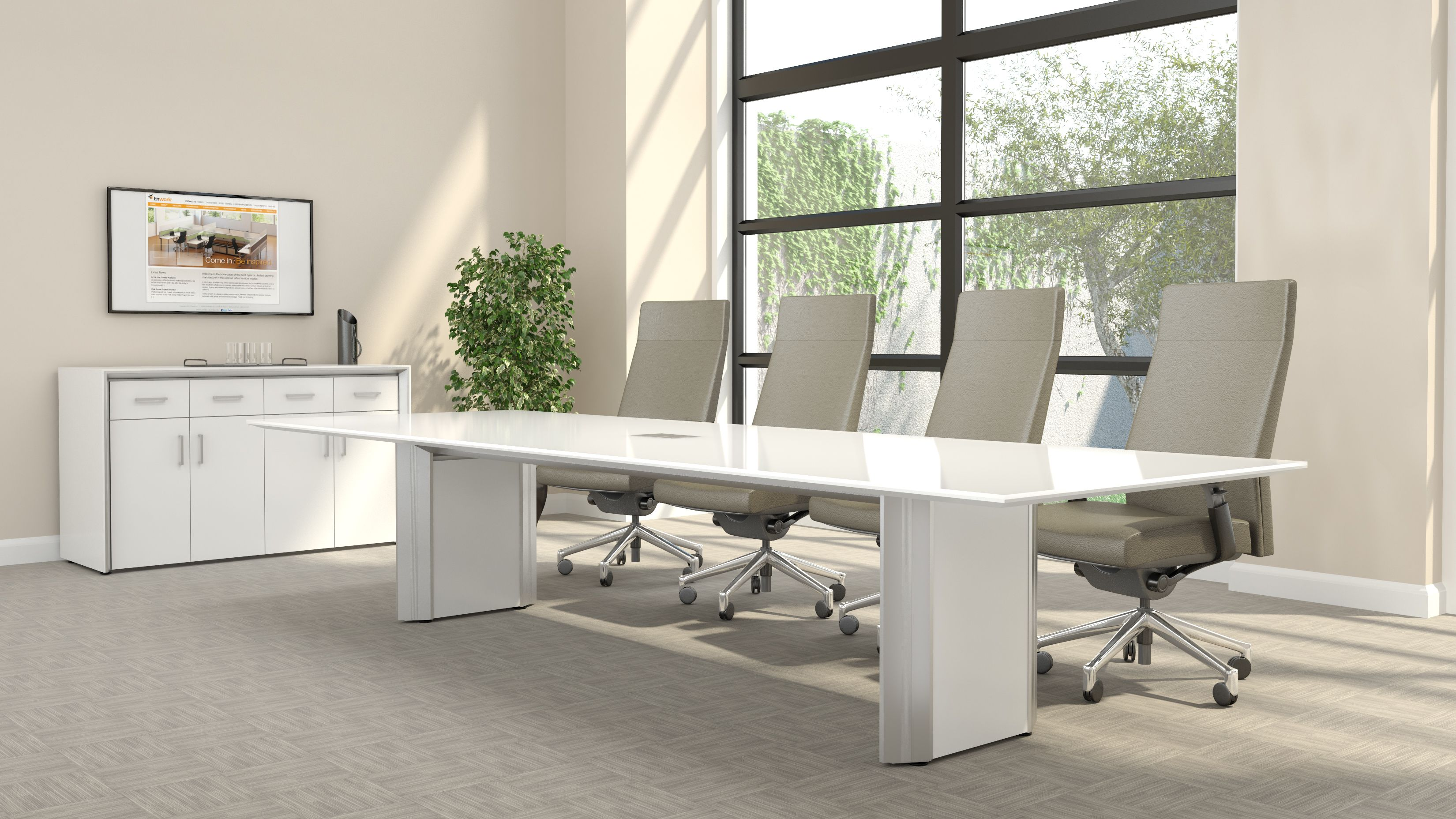 Enwork 12 Stealth Conference Table Modern Conference Table Modern Office Furniture Design Modern Conference Table Design