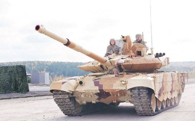 Asian Defence News Channel: Indian Army to soon have Russian T-90