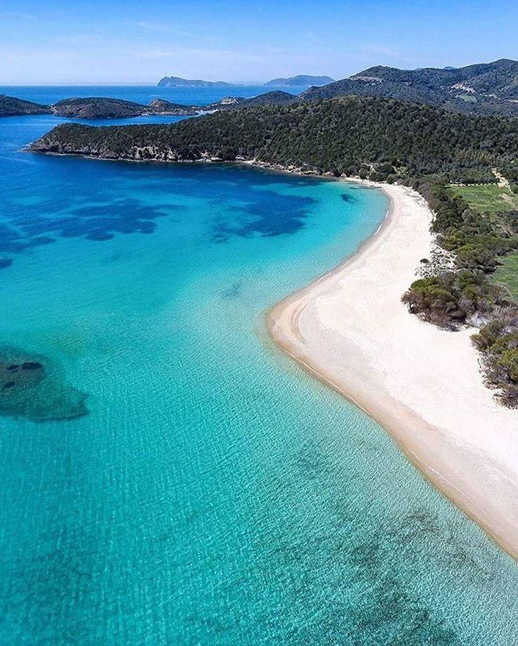 Best Places To Travel Europe April: Tuerredda Beach, Sardinia, Italy