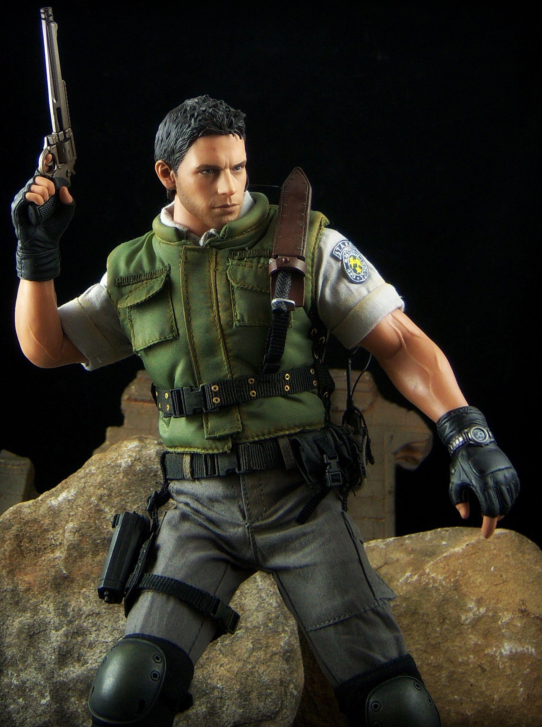 Chris Redfield Resident Evil 5 Hot Toys Resident Evil