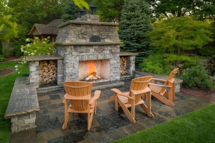 Feuerstelle bauen - eine Idee für genussvolle Gartenstunden! Barbecues