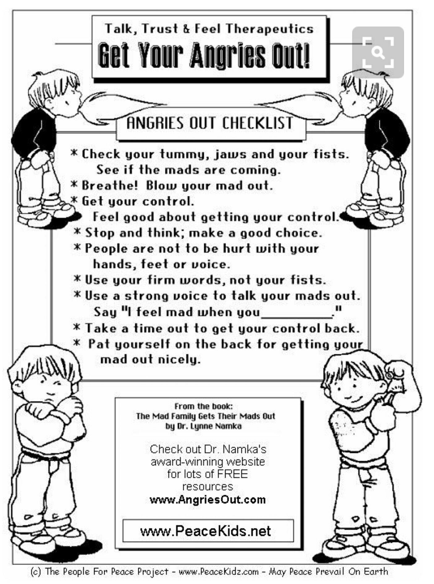 Child Anger Management