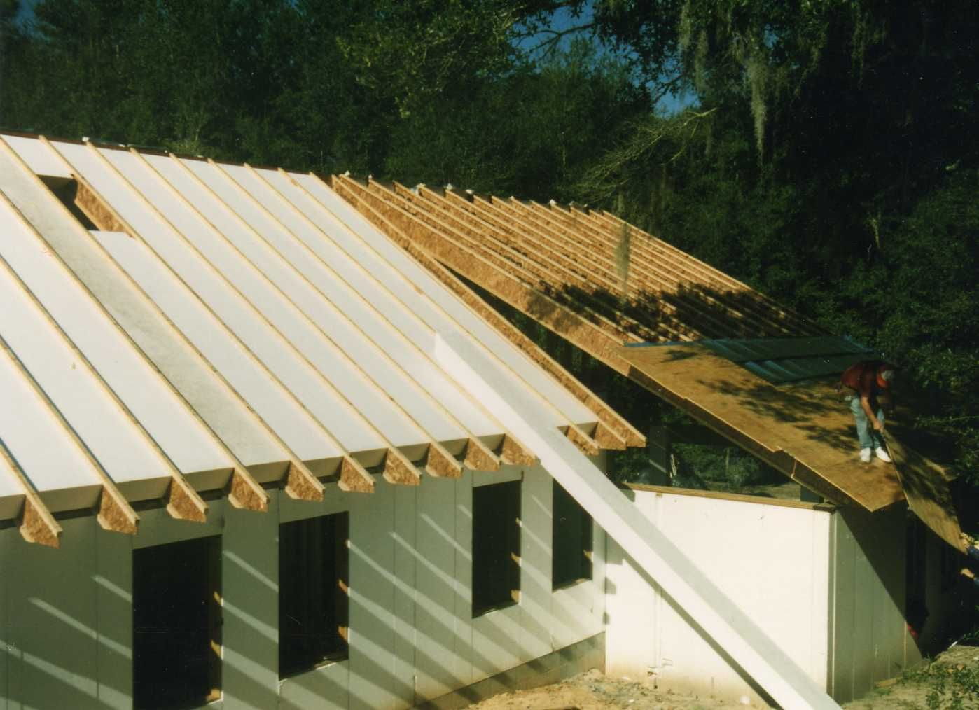 Thermobuilt Compare To Sips Modern Roofing Roof Architecture House Roof