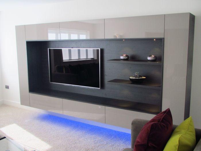 14 Inspiring Flat Screen Tv Wall Units Digital Picture Ideas