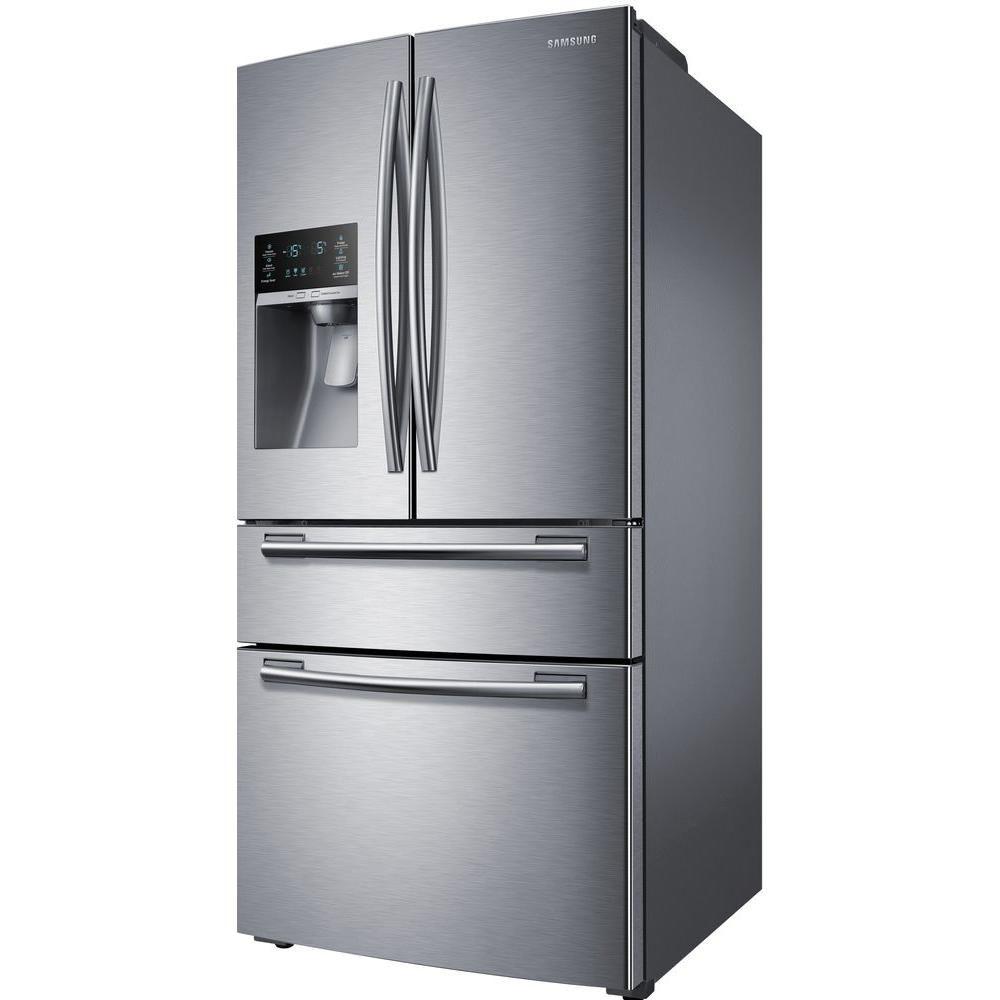 Samsung 33 in. W 24.7 cu. ft. French Door Refrigerator in