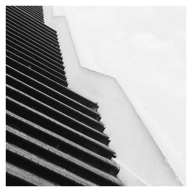 geometric  vs organic :: there is a time and place for both // #form #shape #context #landscapearchitecture #urban #blackandwhite #stairs #architecture #publicspace #minimal #design #geometry // @lou_cust