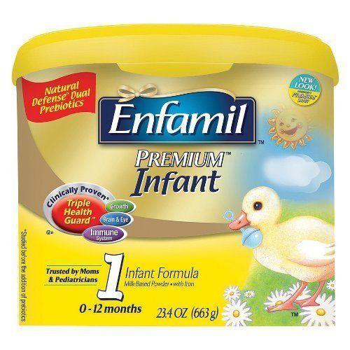 Enfamil Premium Infant Pwdr Size: 23.4 Oz (4 tubs) Target ...