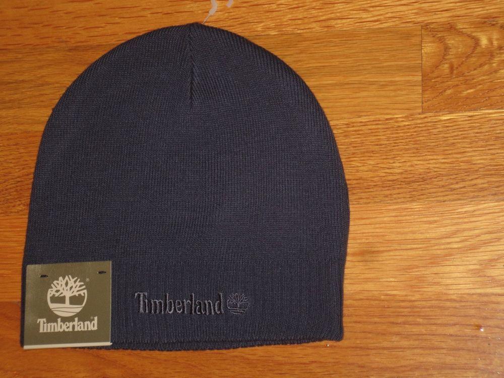 f81b81ae0 TIMBERLAND BEANIE HAT MEN'S SKULL KNIT CAP BLUE NEW NWT #Timberland ...