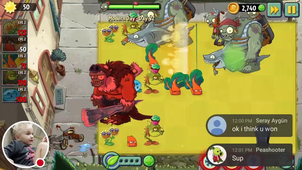 Modern Day Days 42 And 43 Omg These Were Hard Plants Vs Zombies