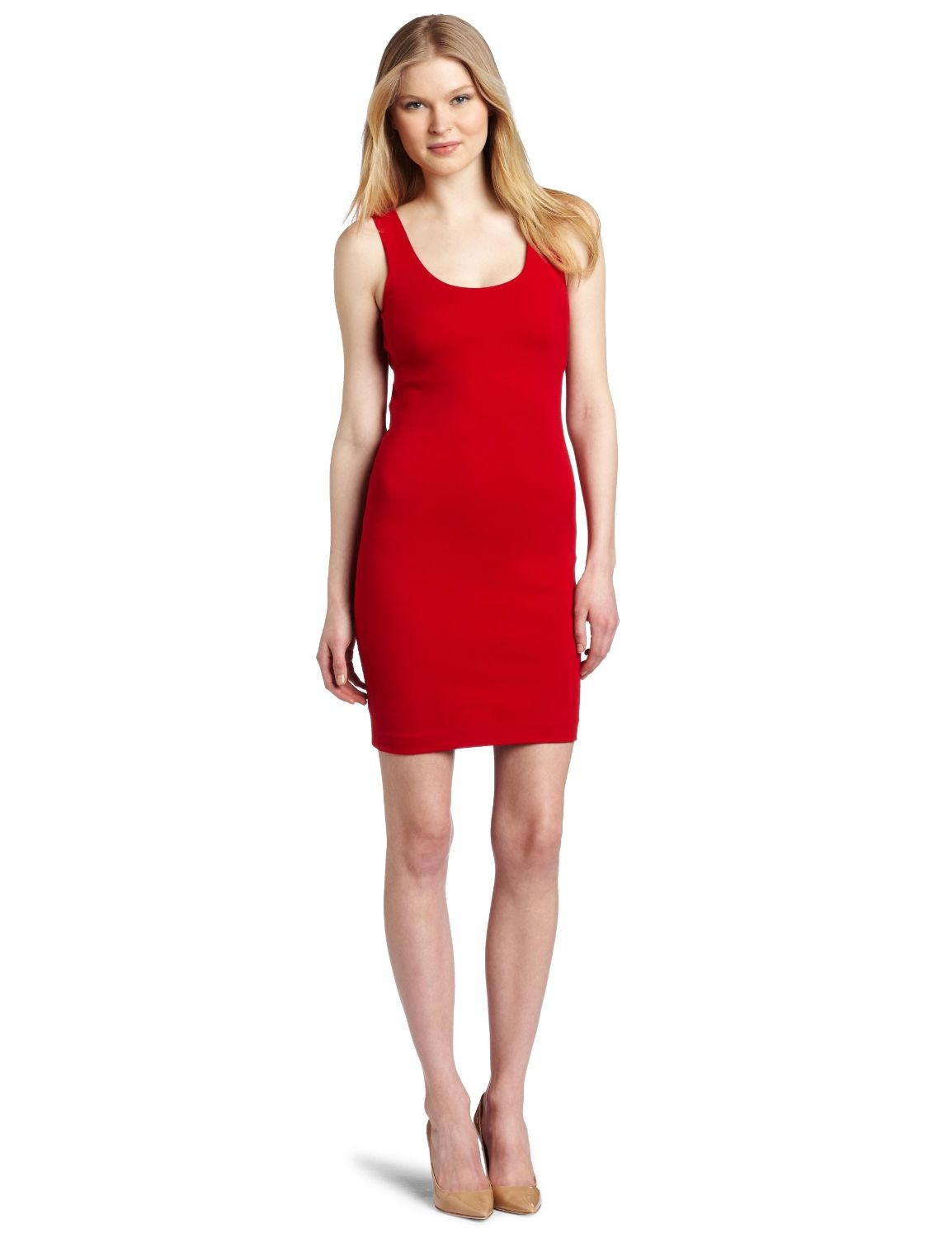 Red Dresses for Women | Red Layer Dress, Women Double Layer Dress ...