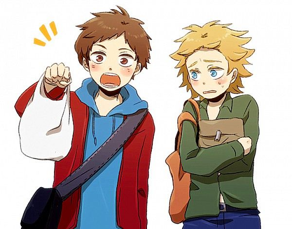 South Park ~~ Clyde and Tweek.   South park anime, Clyde ...