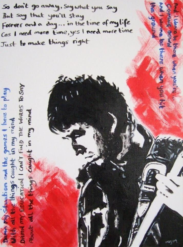 Oasis Don T Go Away Noel Gallagher Oasis Lyrics Liam