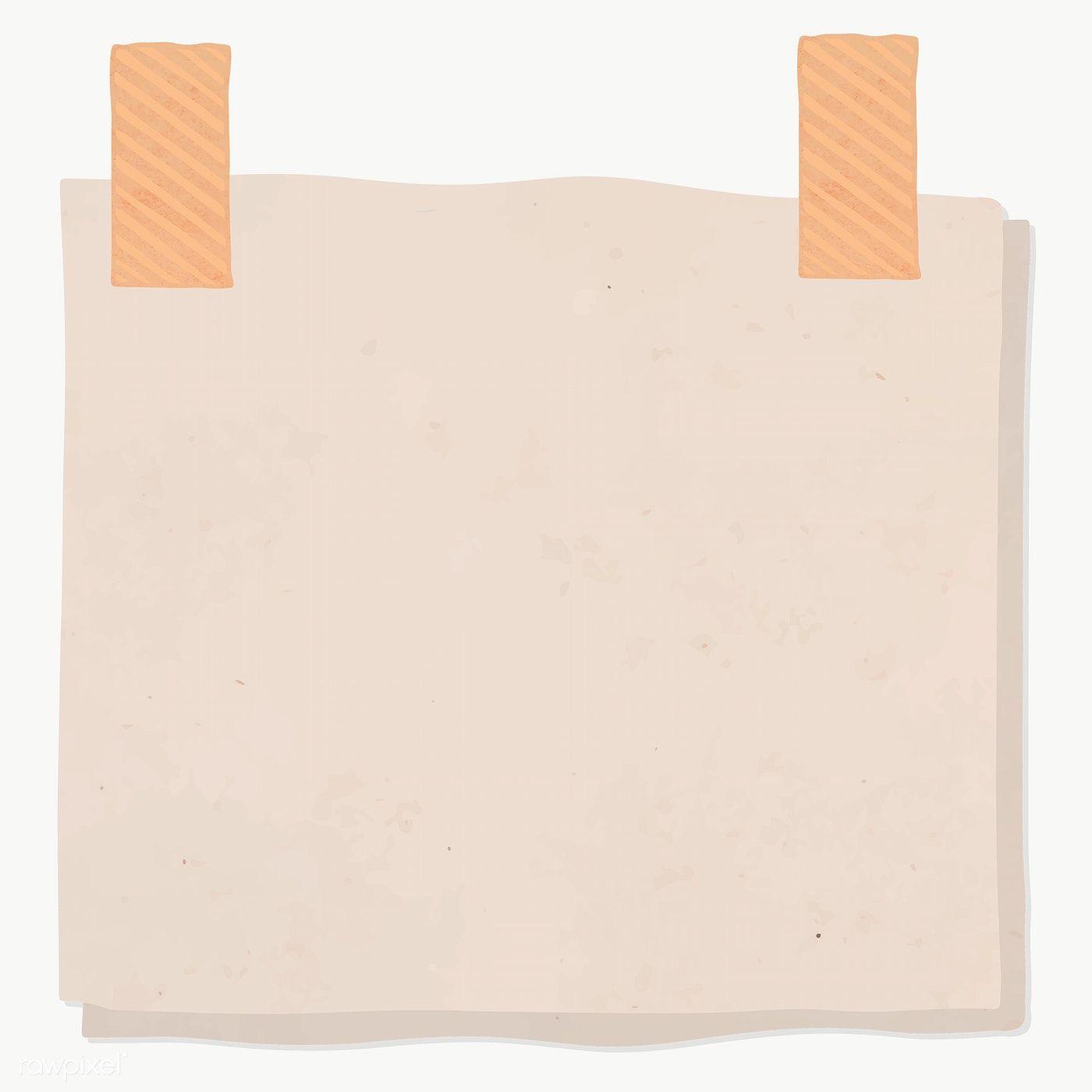 Blank Reminder Paper Note Transparent Png Premium Image By Rawpixel Com Sasi Libre De Vectores Fondos Para Textos Cuadro De Texto