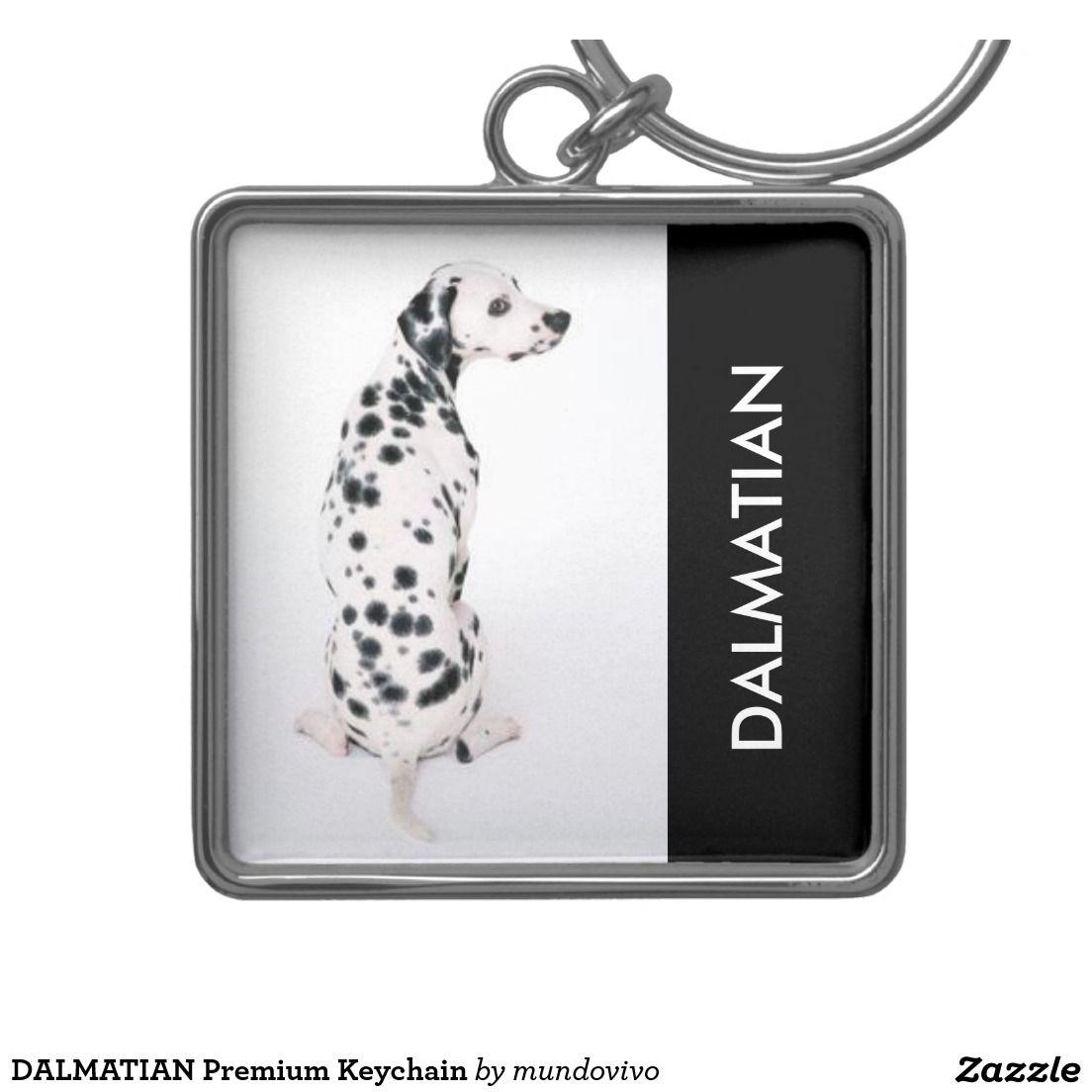 DALMATIAN Premium Keychain | Keychain, Dalmatian, Fobs